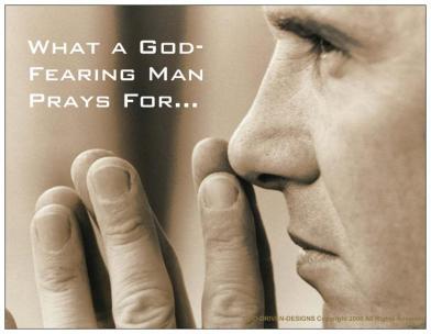 PrayerCardGodFearingMan