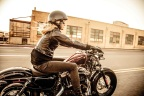 Women ride hard…